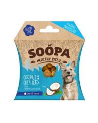 Soopa HEALTHY BITES Cocco e Semi di Chia Snack per Cani