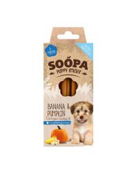 Soopa Dentalstick Banana e Zucca Snack per CUCCIOLI