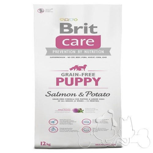 Brit Care Cane Puppy Salmone e Patate