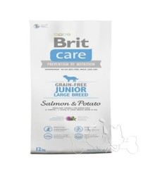 Brit Care Cane Junior Large Salmone e Patate