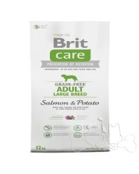 Brit Care Cane Adult Large Salmone e Patate