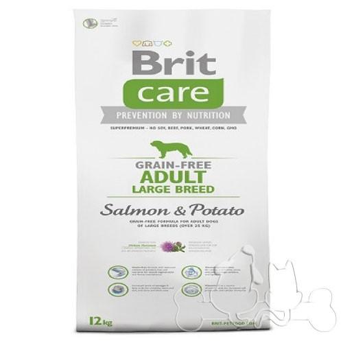 Brit Care Cane Adult Large Salmone e Patate