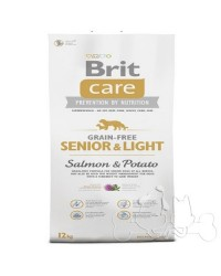 Brit Care Cane Senior e Light Salmone e Patate