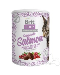 snack per gatti brit superfruits salmon