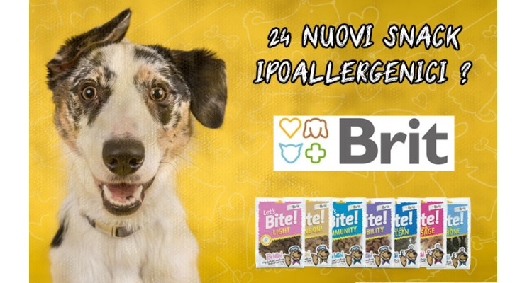Nuovi snack brit care