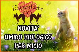 umido biologico per gatti katzen liebe
