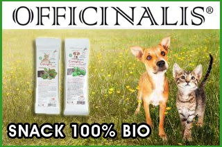 snack officinalis cane e gatto
