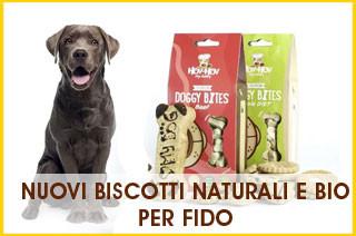 nuovi biscotti naturali per cani