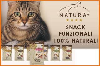 snack funzionali per gatti natura piu